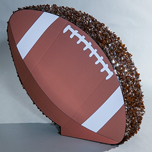 TCDesignerProducts Ready, Set, Hike! Football Homecoming Parade Float Kit, 49 inches x 52 inches, Football Float Décor