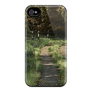 New Iphone 4/4s Case Cover Casing(road To Fall)