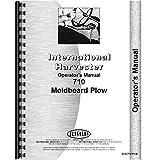 New International Harvester 710 Plow Operators Manual