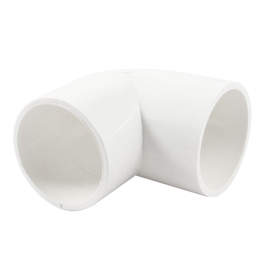 5 x 45 Degree Equal Elbow PVC Pipe Slip Coupling Fitting 20mm x 20mm
