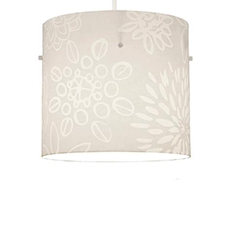MiniSun - Pantalla cilíndrica para lámpara de techo, diseño ...
