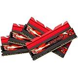 G.SKILL F3-2133C9Q-32GTX Trident X Series 32GB (4 x 8GB) 240-Pin SDRAM DDR3 2133 (PC3 17000) Desktop Memory