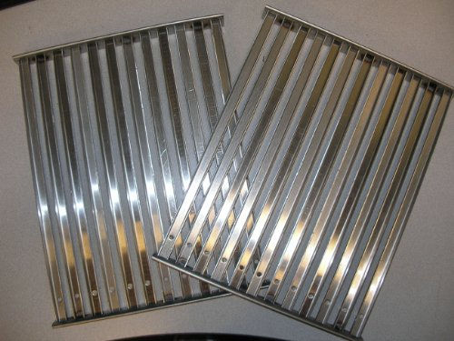 (Tec Gas Grill Factory Replacement Cooking TWO Grates for Sterling II & Patio II)