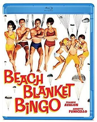 3289e290437a Amazon.com  Beach Blanket Bingo  Blu-ray   Frankie Avalon