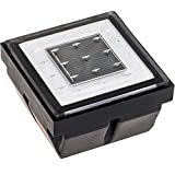 Add some safety and decorations to your yard with this Solar Powered Recessed LED Brick Light from Reusable Revolution. Made of high quality polycarbonate, this light can be placed in your pathway, deck, or patio and handle a load of up to 10...