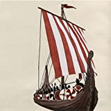 Viking Ship Luncheon Napkin