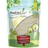 Food to Live Organic Guar Gum Powder by (Great Thickener & Binder, Food Grade, Perfect for Baking, Non-GMO, Kosher, Vegan, Bulk) — 8 Ounces