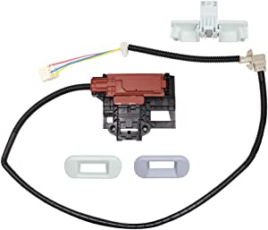 W10404050 Lid Lock Latch Switch and W10240513 Lid Lock Strike Compatible with whirlpool, kenmore Washer washing Machine W10238287, W10744659, AP5263307, PS3497627, PS2579805, P4514459, AP6017583