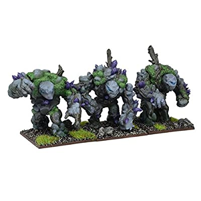 Kings of War: Earth Elemental Regiment - Mantic Games: Toys & Games