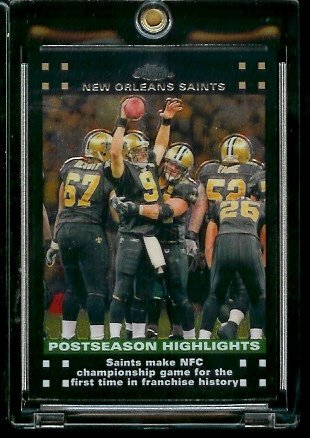 2007 Topps Chrome #TC52 New Orleans Saints PSH - NFL Football Cards