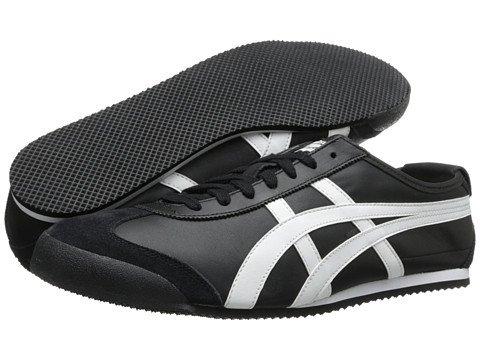 (オニツカタイガー) Onitsuka Tiger ユニセックスランニングシューズスニーカー靴 Mexico 66R [並行輸入品] B0755NWMJL Men's 11.5 (29.5cm) M ブラック/ホワイト