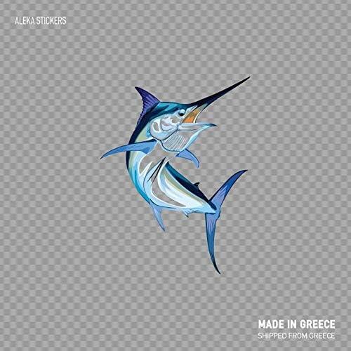 Marlin Fish Custom Boat Decal