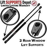Qty (2) Fits FORD Escape 2008 To 2012 Rear Window Lift Supports Struts Shocks