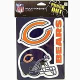NFL Chicago Bears 6'' x 7.5'' Multi-Magnet Sheet
