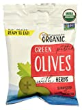 Mediterranean Organic Green Pitted Olives -- 2.5 oz - 2 pc