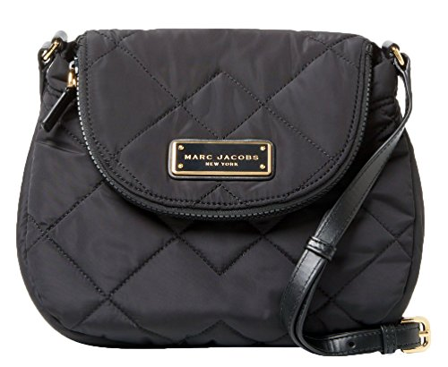 Marc Jacobs Quilted Nylon Small Messenger Crossbody Purse (10