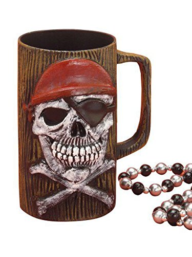 Forum Novelties 60241 Pirate Skeleton Beer Mug -