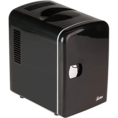 Silver Ice AR5I04 - Mini Nevera (58 W, 4 l), Color Negro