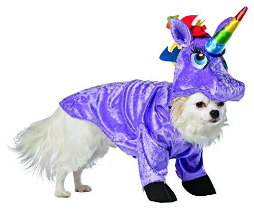 Rasta Imposta Unicorn Dog Costume, 3X-Large