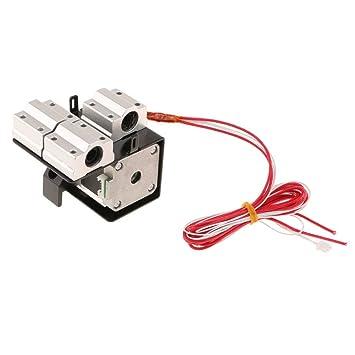 Tubayia Extruder - Cabezal de impresión para Impresora MK8 1.75 mm ...