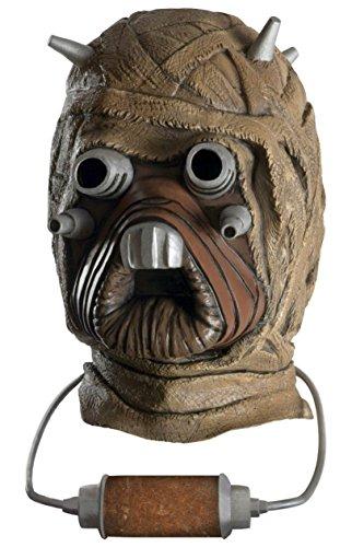 Raider Halloween Costume Tusken (Deluxe Tusken Raider Mask Costume)