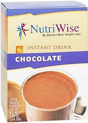 NutriWise - Chocolate Protein Diet Drink (7/Box)