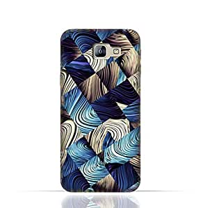 Samsung Galaxy C5 TPU Silicone Case with Digital Art Abstract Pattern