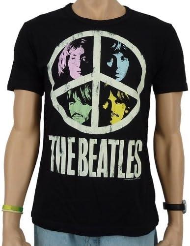 Desconocido Logoshirt Vintage Beatles Peace - Camiseta de ...