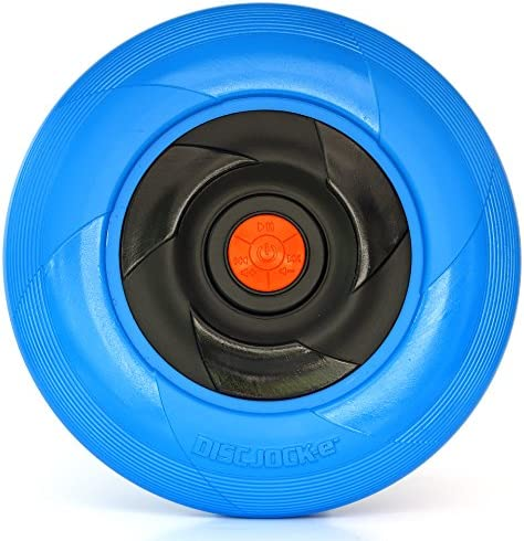 Tucker Toys Disc Jock-E -Bluetooth Speaker- The Flying Disc That Plays Your Music – Assorted Colors