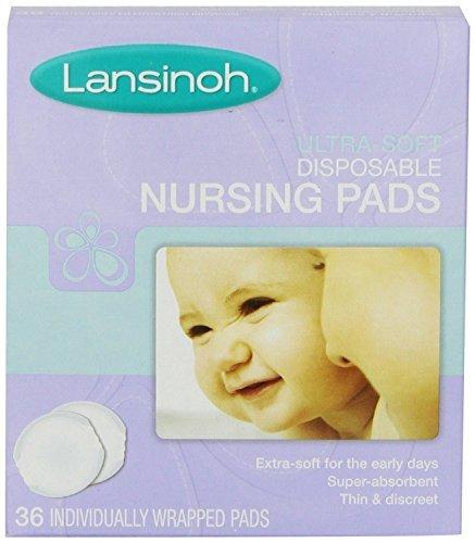 Lansinoh Ultra Soft Nursing Pads, 36 Count (Pack of 12)