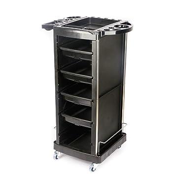 Beauty Storage Trolley Carros De Mantenimiento Productos de peluquería Carrito de Herramientas Material de ABS +