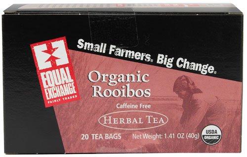 Equal Exchange Organic Herbal Tea Rooibos -- 20 Tea Bags