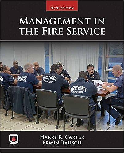 management in the fire service erwin rausch harry r carter