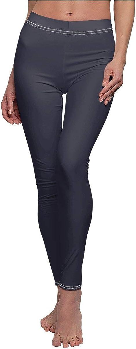 Nordix Limited Trend 2020 Evening Blue Womens Cut /& Sew Yoga Pants Casual Leggings