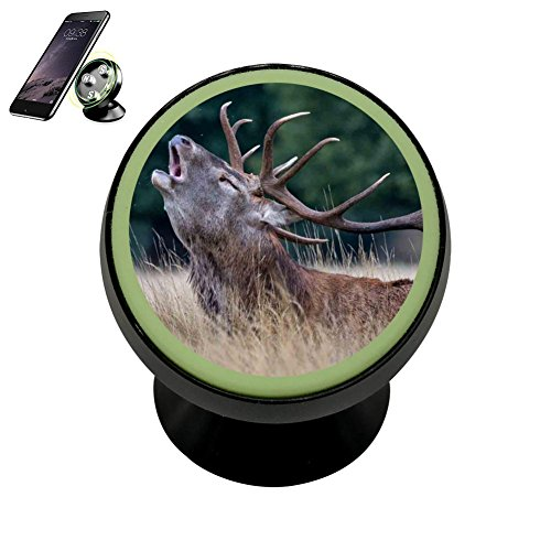 Phone Grip And Stand Expanding Stand and Grip for Smartphones and Tablets- Deer (Green Um Tablets)