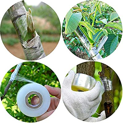 PGCOKO Garden Grafting Pruning Knife with Tape for Grafting Budding - Straight Blade and Hawkbill Blade : Garden & Outdoor