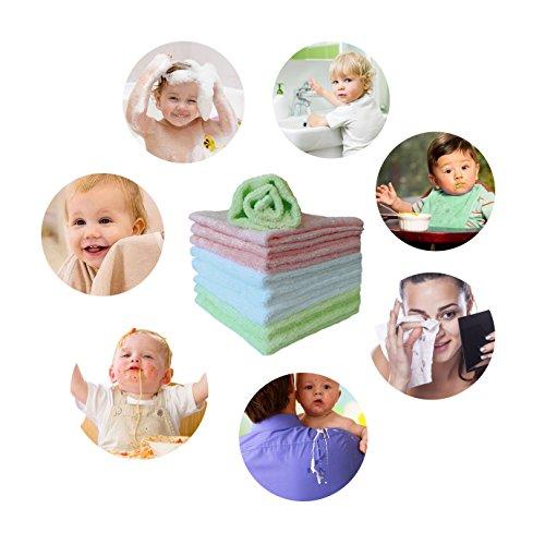 Review Feibi Baby Washcloths Natural