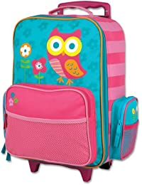 Girls' Little Classic Rolling Luggage, Owl, One Size