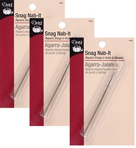 Dritz 618 Snag Nab-It Tool, 2-1/2-Inch 3 Pack