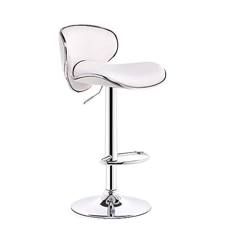 BZEI-Chair Bar Muebles Sillones giratorios de Cuero con ...