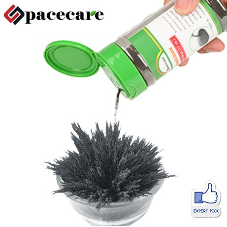 SPACECARE Magnetic Iron Powder for Magnet Education Iron Filing 12 oz