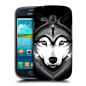 AIYAYA Samsung Case Designs Grey Wolf Running Wildlife Protective Snap-on Hard Back Case Cover for Samsung Galaxy Note 3 N9000 N9002 N9005