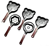 5PCS Set Non Stick Cartoon Omelette Fry Pan Egg Frying Pan