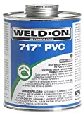 Weldon 1681-4113 10148 1 Pint 717 PVC Cement, Gray