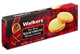#6: Walkers Shortbread Highlanders, 4.7 oz. Box, Traditional and Simple Pure Butter Shortbread Cookies from the Scottish Highlands, Made with Quality Ingredients, Free from Artificial Flavors