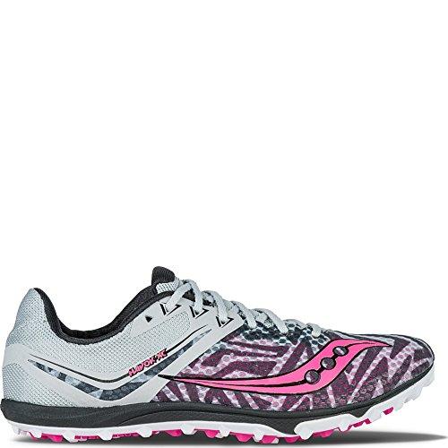 Silver Flat XC Havok Pink Vizipro Saucony pqzEtBwxt