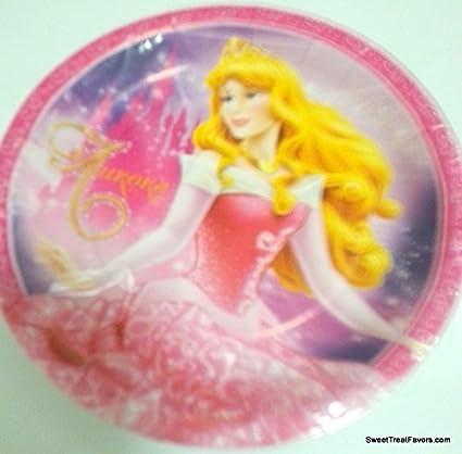 Amazon.com: Sleeping Beauty Aurora Platos Pastel Cumpleaños ...