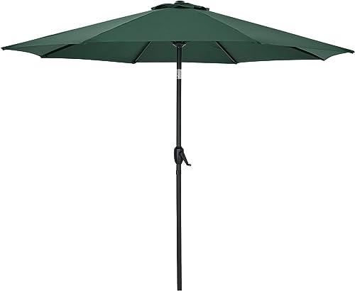 AMTALL Patio 9ft Patio Umbrella Outdoor Market Table Umbrella