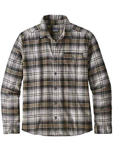 s Homme Chemise Lw Grigio Fjord L Flannel Patagonia M's q1wEfTT