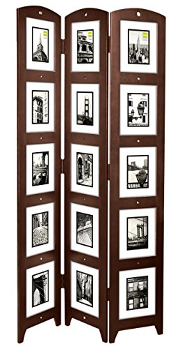Amazoncom Kiera Grace Triple Panel Floor Photo Screen 33 By 645